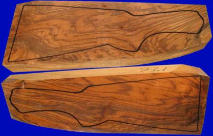 Schafthölzer aus edlem Wurzelmaserholz