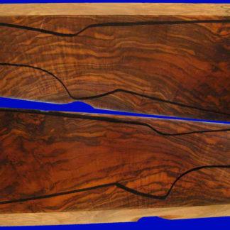 Schaftholz aus edlem Wurzelmaserholz