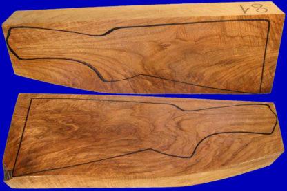 Kipplaufschaftholz in Halbluxusqualität