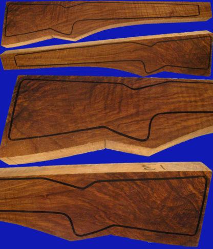 Repetierschaftholz in Halbluxusqualität