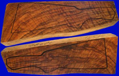 Kipplaufschäfte aus edlem Nussbaumholz