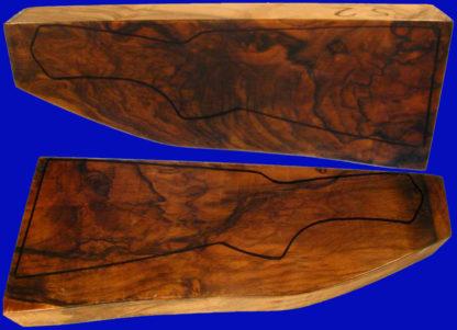 Türkische Schafthölzer aus edlem Nussbaumholz, Kipplaufschaftholz