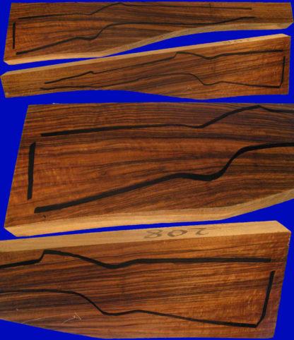 Repetierschaftholz in Halbluxusqualität zur Herstellung von Jagdgewehren