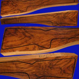 Kaukasische Schafthölzer aus edlem Walnussholz, Repetierschaftholz